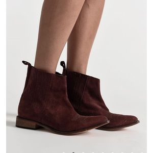 BNWT One Teaspoon suede leather boots